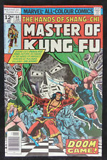 The Hands of Shang-Chi Master of Kung Fu #60 UK Price Variant Jan 1978 FN+ 6.5