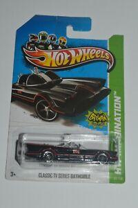2012 Hot Wheels Classic TV Series Batmobile HW Imagination Malaysia New On Card