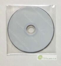 4000 CD DVD CPP Clear Plastic Sleeve with Flap and stitching on borders 65micron