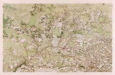 Carte Cassini FRANCE XVIIIe siècle Landes Aquitaine réplique Poster Print pam0779