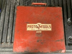 Proto 4019 Straight Jaw Puller Set (4 Sets of Jaws) 4011 Gear Puller