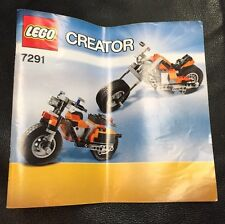 LEGO Creator Instruction Manual Book ONLY 7291 FREE SHIPPING