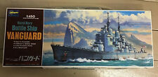 HASAGAWA 1/450 Royal Navy Battle Ship VANGUARD Motorized Kit Open Box No.6