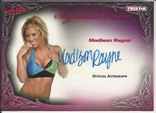 Madison Rayne 2009 TriStar TNA Knockouts Signature Curves Autograph Card # KA7