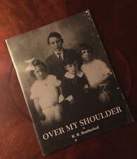 Over My Shoulder  by W.W. Weatherford (1975) SIGNED