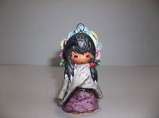Vintage Goebel Degrazia Angel Christmas Ornament Flower Girl