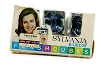 Vintage Sylvania Blue Dot Flashcubes New Old Stock 3 cubes in box