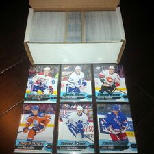 2016 17 UPPER DECK COMPLETE SET SERIES 1 (1-250) WITH ALL 50 YOUNG GUNS MINT++++