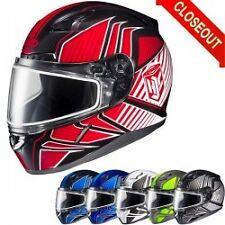 HJC Snowmobile CL17 Redline XL helmet with snow shield
