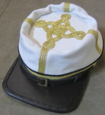 CIVIL WAR CSA CONFEDERATE INFANTRY SR. OFFICER WOOL KEPI FORAGE CAP HAT-MEDIUM