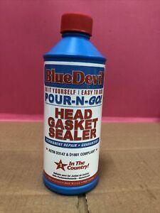 BlueDevil Pour-N-Go Head Gasket Sealer Permanent 00209 16 Oz.  R699 (Upc2096)