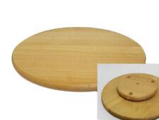 Tavola rotante Lazy Susan in legno tondo girevole servire PIZZA TORTA 14 pollici