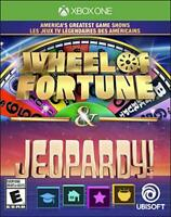 AMERICA'S GREATEST GAME SHOWS: WHEEL OF FORTUNE & JEOPARDY! - XBOX ONE (XB1-1046