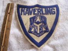 Vintage Haverling Girls Assn Patch