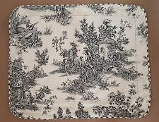 Waverly Garden Room (1) Black Toile Standard Pillow Cover French Country Life