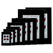 Clip Frame A1 A2 A3 A4 A5 12x18 16x20 12x16 11x14 24x32 Frameless Picture Poster