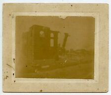 1899 Marshall TX Texas Harrison County Courthouse Fire Cabinet Card Photograph