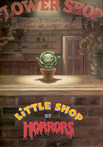 Little Shop of Horrors Vintage Movie Giant Poster - A0 A1 A2 A3 A4 Sizes