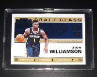 2019-20 ZION WILLIAMSON #1 Draft Class Of 2019 Panini Contenders Basketball Card