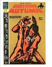 Cheyenne Autumn HIGH GRADE Dell movie John Ford Jimmy Stewart as Wyatt Earp