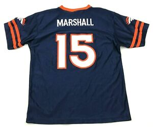 NFL Brandon Marshall Denver Broncos Football Jersey Youth Size Extra Large 18-20