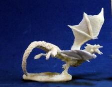 1 x DRAGON NOUVEAU NES NOIR - BONES REAPER figurine miniature jdr rpg hatchling