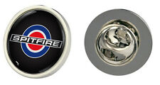 Triumph Spitfire Target Logo Clutch Pin Badge Choice of Gold/Silver