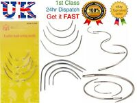 Hand Sewing Needles Curved Repair Upholstery Craft Knit Quilting Needle 4Pcs