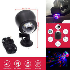 Universal Car USB Music Rhythm Party Disco DJ Stage Light LED RGB Ball Lamp 6W