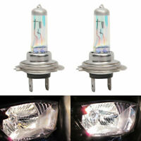 2x H7 voiture ampoules phare xenon 100w 8500k 12v blanc feux lampe G