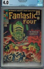CGC 4.0 FANTASTIC FOUR #49 GALACTUS 1ST FULL APPEARANCE CR/OW PAGES