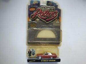 Homie Rollers '85 Cadillac Brougham with Payday & B-Boy Jada Toys 1:64 Scale