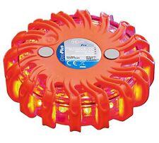 LED Notfall Warnblinkleuchte Warnblitzer Warnleuchte 16 orange LED mit Magnet
