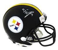 Ben Roethlisberger Signed Pittsburgh Steelers Riddell Mini Helmet - FANATICS