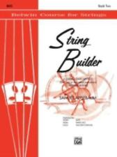 String Builder  - Bass (Belwin Course for Strings)-ExLibrary