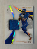 ALEXANDER MATTISON 2019 Immaculate Collegiate GU SP RC GLOVES /88!! INVEST NOW!