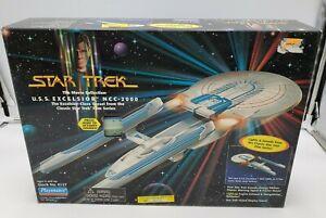 Star Trek Movies USS Excelsior #6127 Playmates 1995 NEW