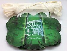 Large 100FT Rolling Rock Leaf Beer Flag Banner Promotional Promotion Shamrock 33