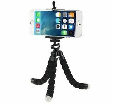 Black Adjustable Tripod Stand Mount Holder For Samsung Galaxy S8 iPhone7 Plus