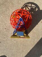 Vintage Knickerbocker Plastic Ferris Wheel With Music Box