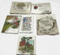 Vintage and Antique Floral and Ephemera Cards  Birthday