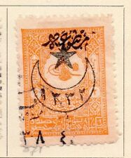 Turkey 1916 Early Issue Fine Used 2p. Star and Moon Optd 167801