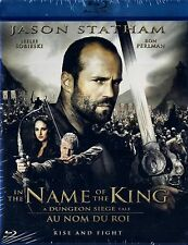 BRAND NEW BLU-RAY  //  IN THE NAME OF THE KING //JASON STATHAM, RON PERLMAN