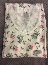 New listing Indera Women's 2 Piece Thermo Underwear-Floral Design-Size (M) New w/o Tags