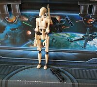 STAR WARS FIGURE 1999 PHANTOM MENACE COLLECTION BATTLE DROID