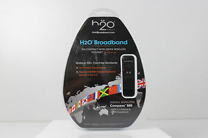 H2O Broadband No Contract Worldwide Wireless Internet On The Go Compass 888 NEW