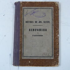 full score / partitur HAYDN symphony Bb , antique