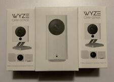 WYZE 3pc Lot, Cam/sense Starter Kit X2, Cam Pan X1, All Sealed, New
