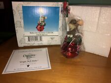"""Charming Tails """"Jingle Bell Baby"""" Dean Griff Christmas Ornament"""