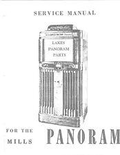 Mills Tech Panoram jukebox manual .Pdf (10 pages)